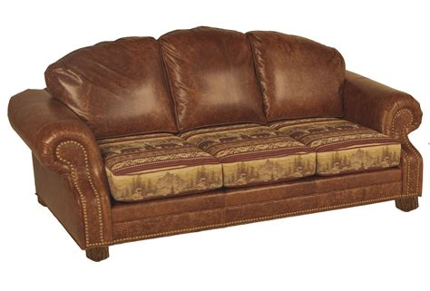 Lodge Sofa by Hickory Roosevelt Sofa Lodge Craft
