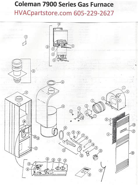 coleman gas furnace limit switches wiring diagrams