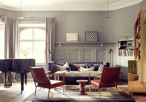 Livingroom Fireplace ett hem stockholm sweden pretty hotels