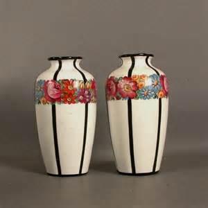 jugendstil vase two nouveau ceramic vases 1900 1920 no 4075