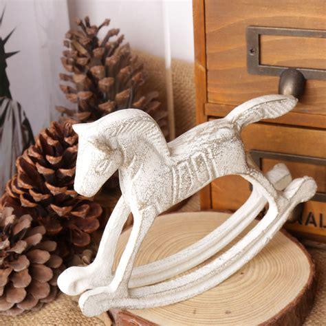Rocking House Pajangan Kayu Decor Vintage unique gift vintage cast iron furnishing articles rocking vintage home decor vintage