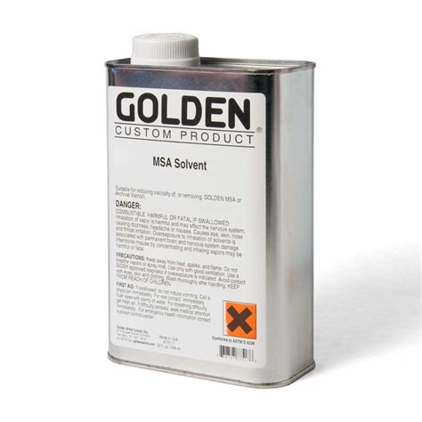 Golden Mineral Spirits 32 Fl Oz Natural Pigments