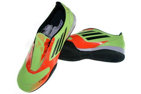 Tas Sepatu Olah Raga Hijau adidas f50 adizero hijau orange graha sepatu olah raga