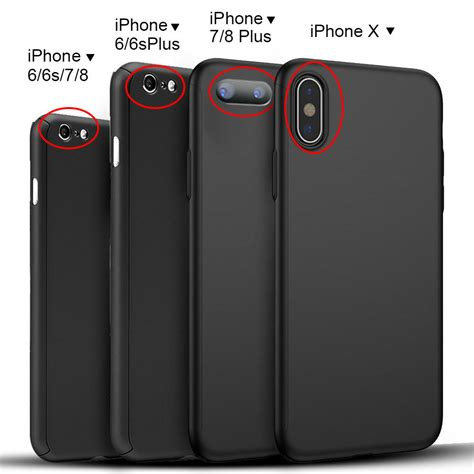 Diskon Iphone 6 7 8 6 7 8 Black Matte Baby Skin 360 Ca 24113 ultra thin cover for iphone x 6 6s 7 8 iphone8