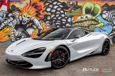 custom mclaren 720s mclaren 720s with lexani lz 118 wheels trending at