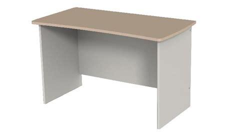 bureau 120x60 table bureau curve ar 200 s simple 120x60 cm c 212 t 201 gris