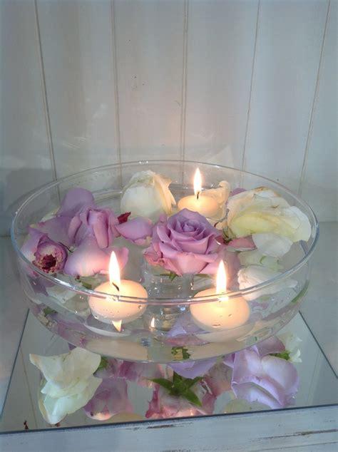 composizioni floreali con candele 1000 idee su composizioni con candele su