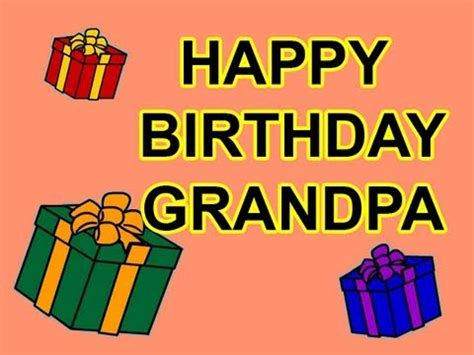 happy birthday grandpa! birthday cards youtube