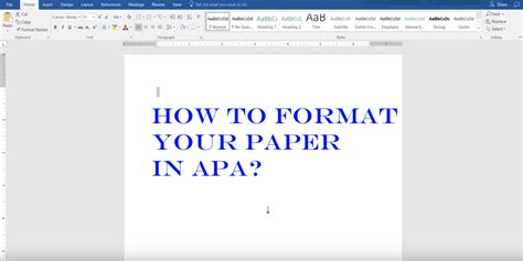 how to format your paper in apa obfuscata