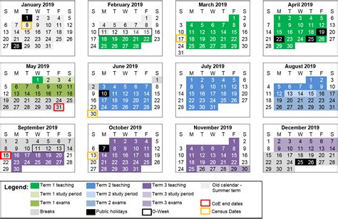 calendar  south australia  seimado
