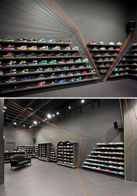 best athletic shoe store best 25 shoe store design ideas on shoe shop