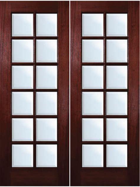 12 Lite Exterior Door Mahogany Exterior Doors 12 Lite Door