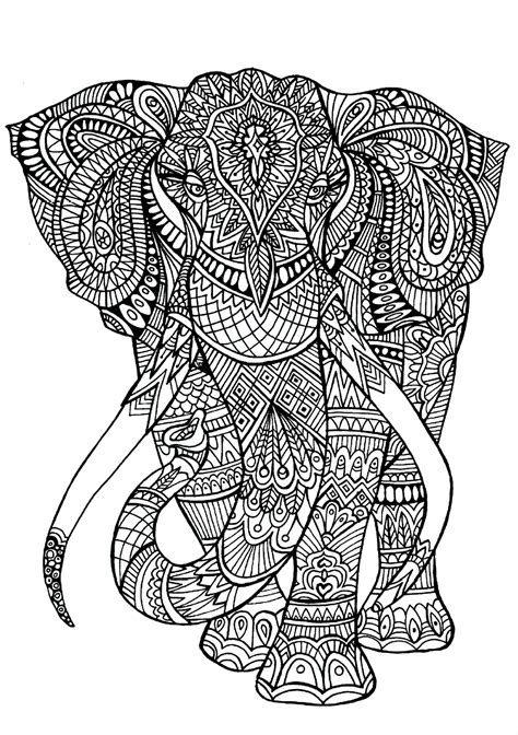 Animal Colouring Pages With Patterns Pattern Animal Animal Pattern Colouring Pages