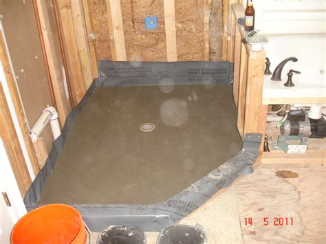 Installing Tile Shower Pan Bathroom Remodeling Services