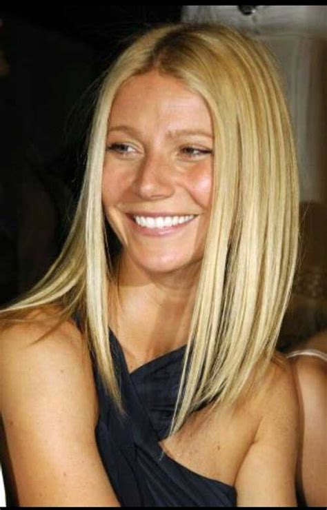 long bob hairstyles gwyneth paltrow 20 inverted long bob bob hairstyles 2017 short