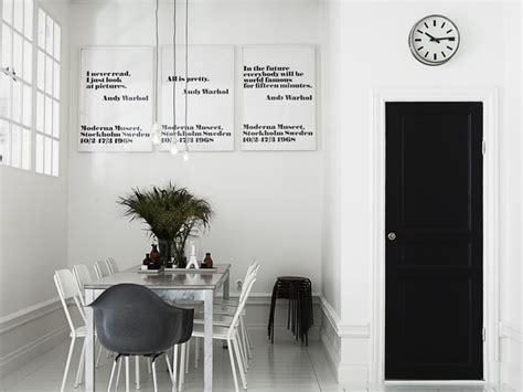 scandinavian style white  black nordic bliss