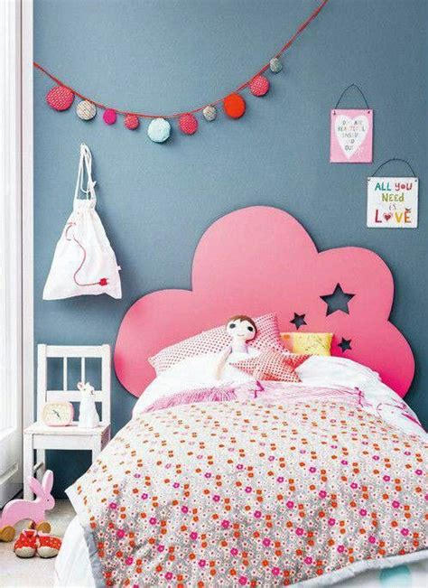 little girl headboard ideas diy idea pink cloud headboard kids room pinterest
