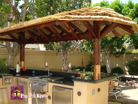custom african reed palapa www palapakings com backyard pinterest africans