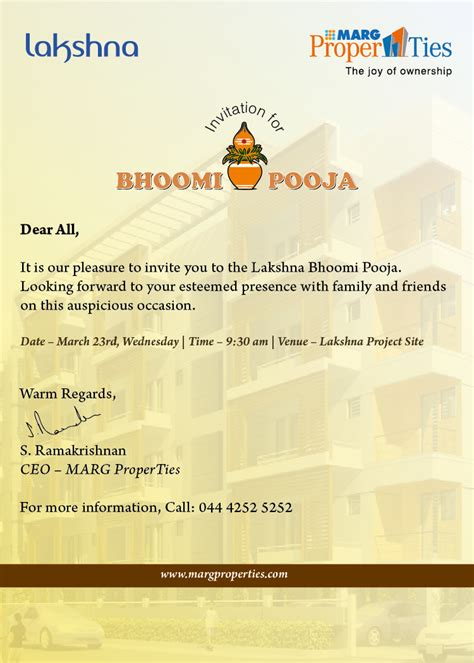 Invitation Letter Message Invitation Wording For Vastu Puja Invitation Ideas
