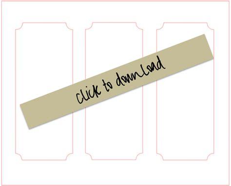 box file label template diy chalkboard paper