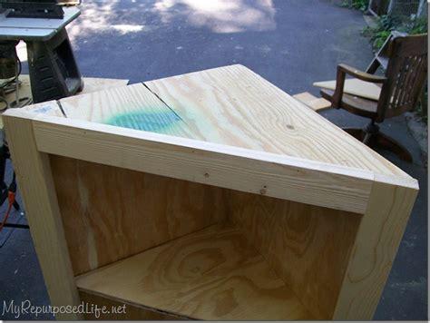 diy corner cabinet repurposed 174