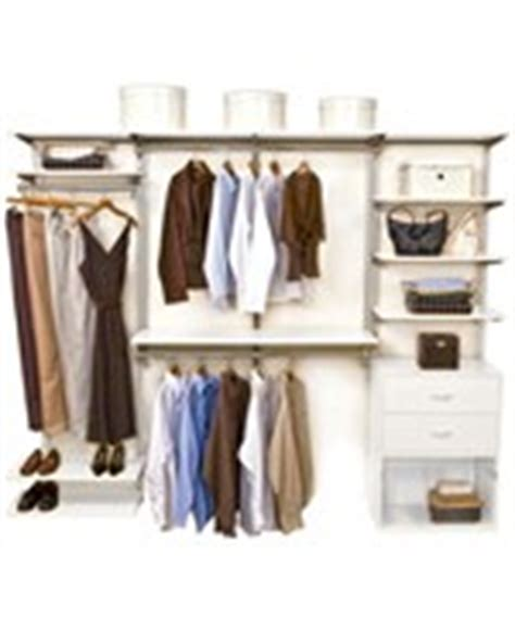 Schulte Closet Systems by Schulte Freedomrail Closets Freedomrail Closet Kit