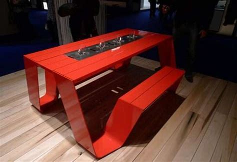 Modernized Picnic Tables : hopper collection