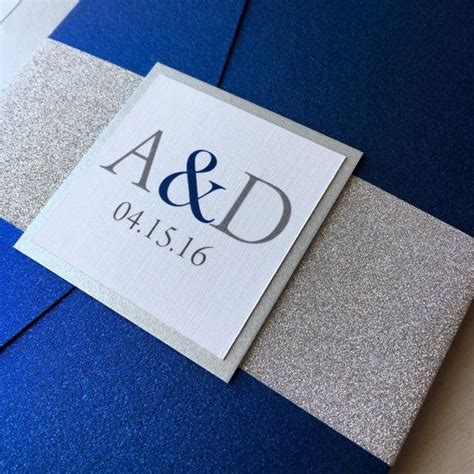 blue and silver wedding invitation ideas best 20 cobalt blue weddings ideas on
