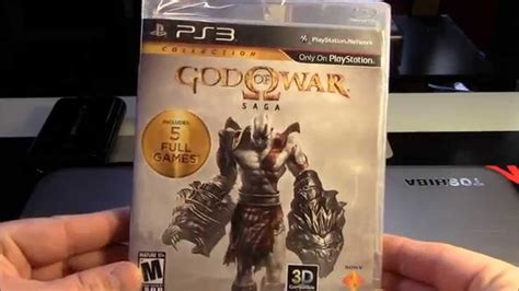 Ps3 God Of War Saga unboxing god of war saga playstation 3 en espa 241 ol