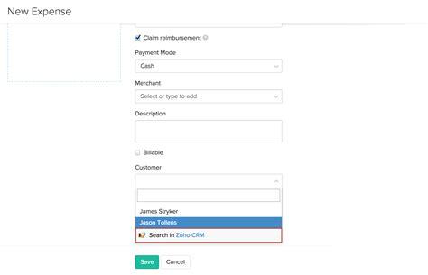 Zoho Search Zoho Crm Integration Zoho Expense Help