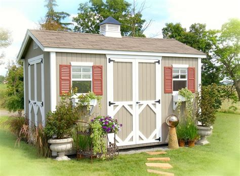8 X 12 Shed Kit by The Workshop Wood Garden Storage Shed Kit 8 X 12