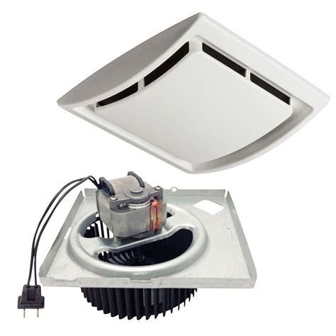 bathroom extractor fan motor nutone 60 cfm bath fan upgrade kit 690nt the home depot