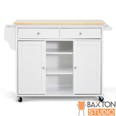 Meryland White Modern Kitchen Island Cart home styles nantucket kitchen island home furniture