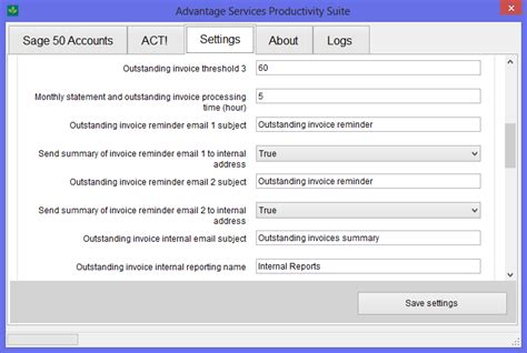 monitor outstanding customer invoices