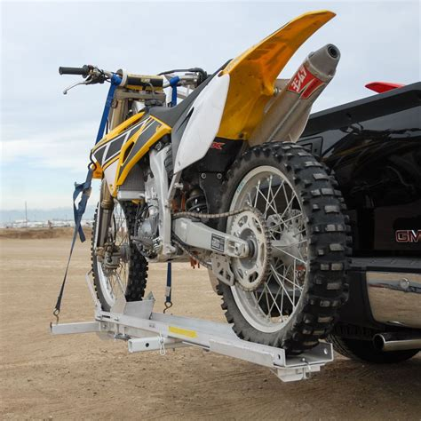 How To Transport Bike Without Rack by Tilt A Rack Aluminum Tilting Motorcycle Carriers