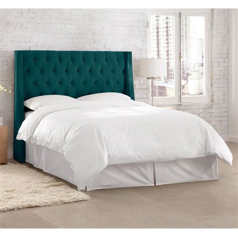 willow blue king headboard 153kmstpcc the home depot