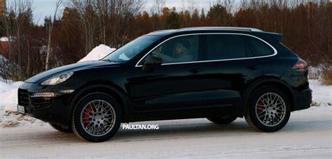 porsche cayenne 2014 facelift 2014 cayenne facelift autos post