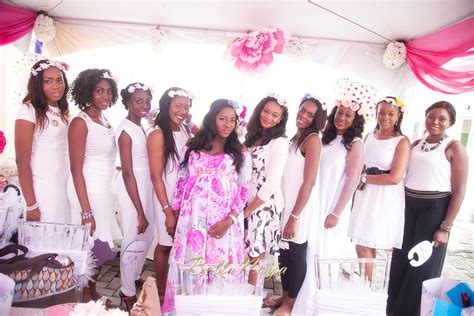 bridal shower dress code bellanaija living presents taiwo s floral baby shower