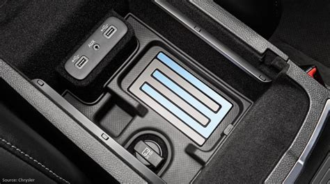chrysler wireless charging aircharge