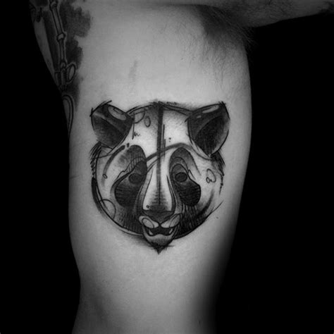 panda tattoo sketches 100 panda bear tattoo designs for men manly ink ideas