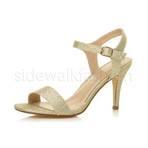 High Heel Simple By Shoes womens high heel strappy evening prom simple
