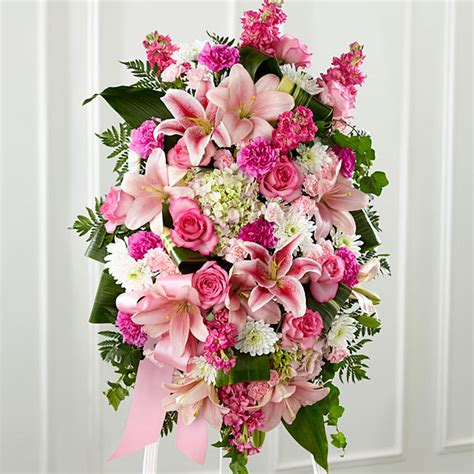 Top 10 Ftd Flower Bouquets by The Gently Into The After Standing Spray Judy S
