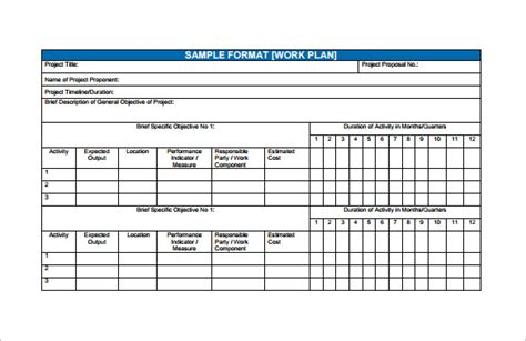 Financial Planning Templates Excel Free by Financial Plan Template Excel