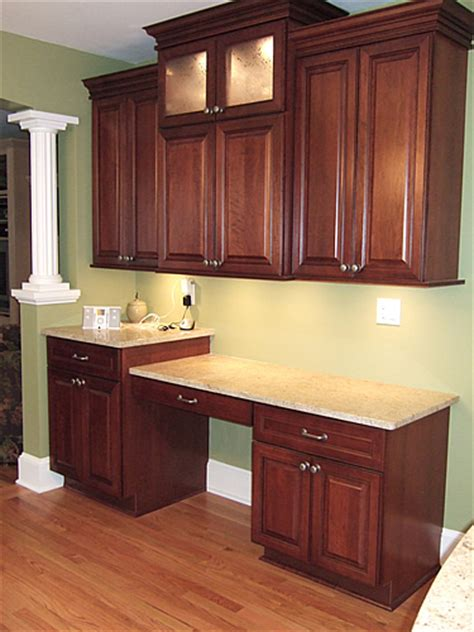kitchen cabinet desk ideas kitchen tile backsplash remodeling fairfax burke manassas