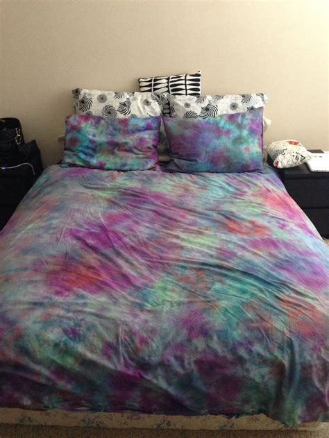 diy tie dye bed sheets hippie bed sheets