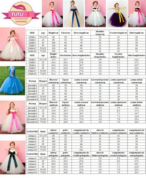 Tutu Dressesno2 Sizes size chart for crochet tutu tops 1t 8y adjustable one shoulder handmade lined top
