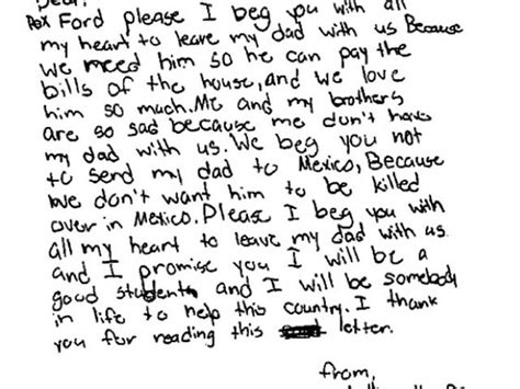 Support Letter To Immigration Judge Of Detained Immigrant In Letter To Judge I Beg You With All My To Leave My With Us