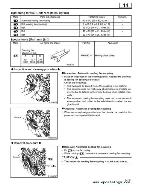 car service manuals pdf 1996 mitsubishi truck electronic toll collection mitsubishi fuso canter 2012 2016 service manual pdf