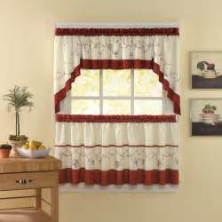 Tuscan Kitchen Curtains Valances Chf Industries Grace Tailored Kitchen Curtain Set