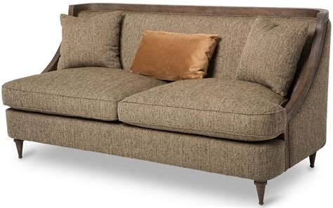 wood trim sofas aico studio space dallas wood trim sofa st dalls14 hze 200